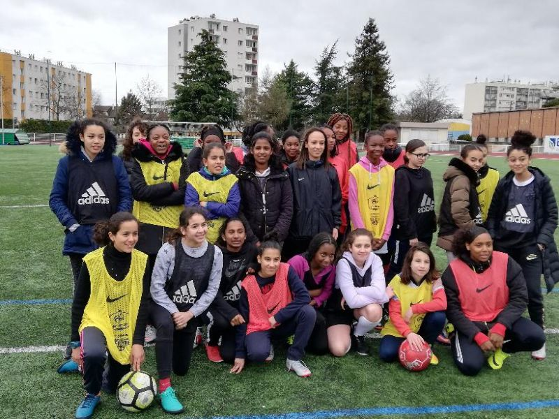 Formation UNSS Arbitres Féminines